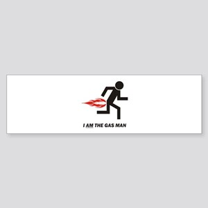 Gas Man Sticker (Bumper)