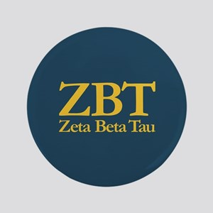 Zeta Beta Tau Fraternity Letters and Name i Button