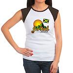 Welcome to JamRock, Jamaica Women's Cap Sleeve T-S