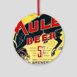 Missouri Beer Label 2 Ornament (Round)