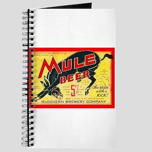 Missouri Beer Label 2 Journal