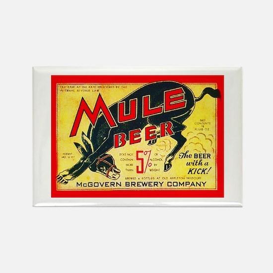 Missouri Beer Label 2 Rectangle Magnet
