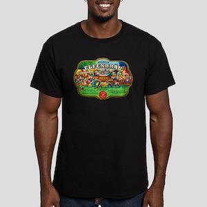 Wisconsin Beer Label 6 Men's Fitted T-Shirt (dark)