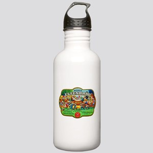 Wisconsin Beer Label 6 Stainless Water Bottle 1.0L
