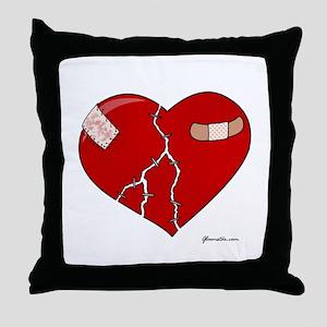 Trusting Heart Throw Pillow