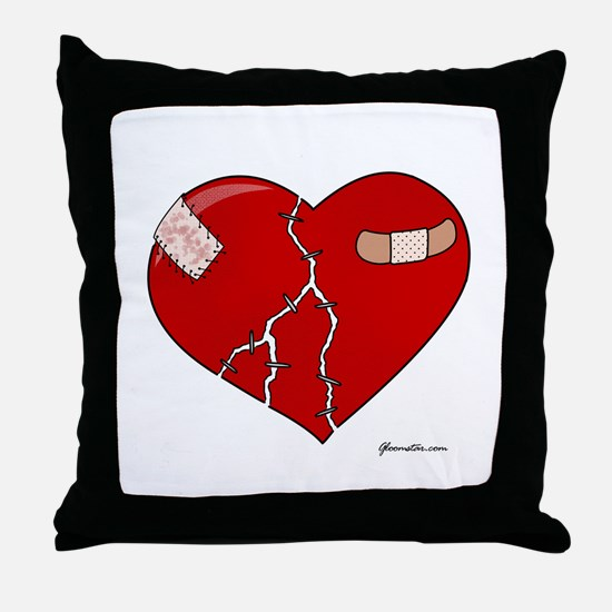 Trusting Heart Throw Pillow