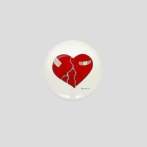 Trusting Heart Mini Button