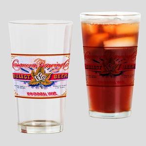 Wisconsin Beer Label 5 Drinking Glass
