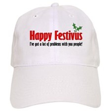 happy FESTIVUS™ lot of problems Cap