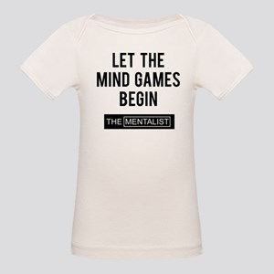 Let the mind games begin Organic Baby T-Shirt