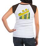 Jamaica Bobsled Women's Cap Sleeve T-Shirt
