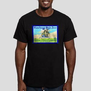 Wisconsin Beer Label 11 Men's Fitted T-Shirt (dark