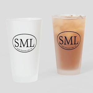 SML Smith Mountain Lake Drinking Glass