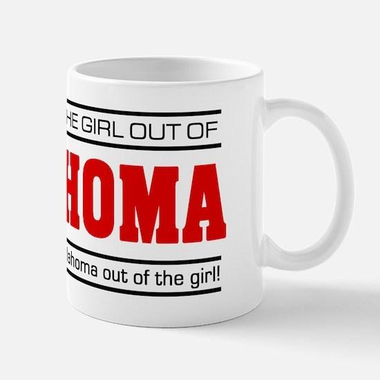'Girl From Oklahoma' Mug