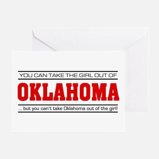 'Girl From Oklahoma' Greeting Card
