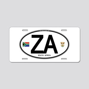 South Africa Euro-style Code Aluminum License Plat