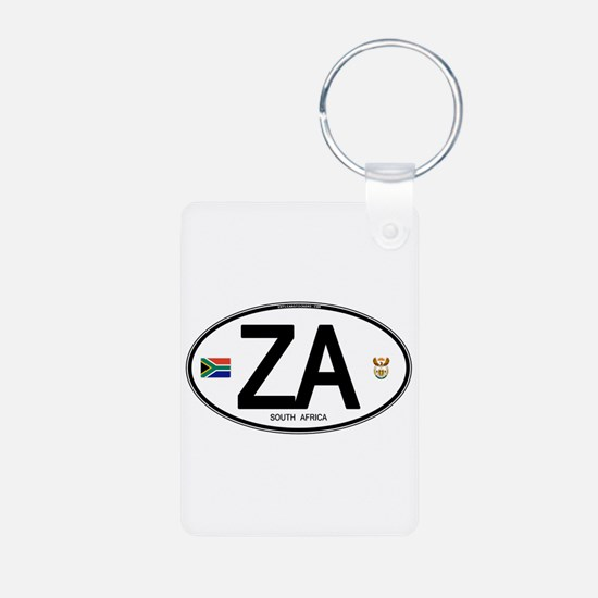 South Africa Euro-style Code Keychains