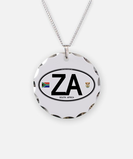South Africa Euro-style Code Necklace