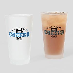 Creech Air Force Base Drinking Glass