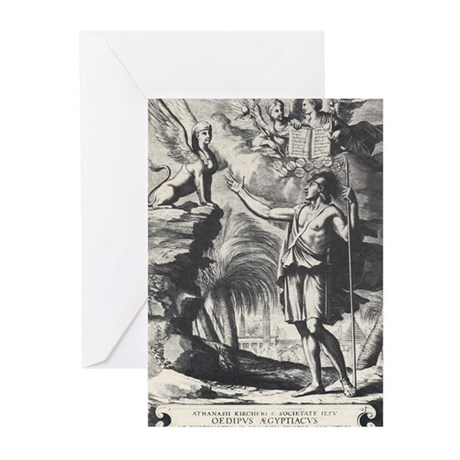 The Sphinx's Riddle Greeting Cards (Pk of 10)