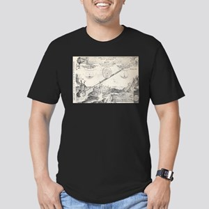 Medieval Geometry Men's Fitted T-Shirt (dark)