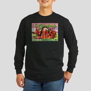 Iowa Beer Label 4 Long Sleeve Dark T-Shirt