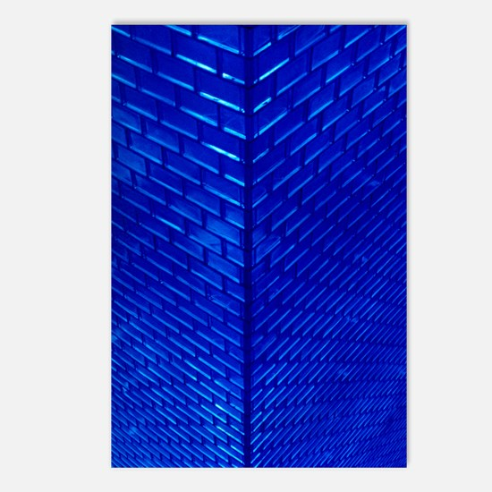 Blue Glass Postcards (Package of 8)