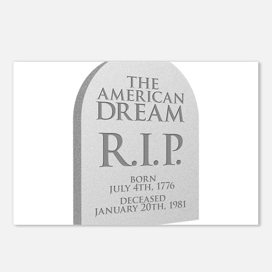 American Dream is Dead Postcards (Package of 8)