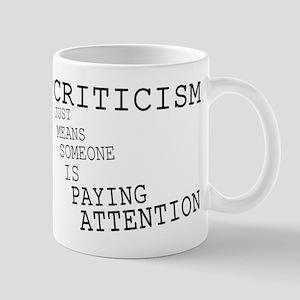 Criticism 11 oz Ceramic Mug