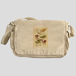Antique Mushroom Botanical Pr Messenger Bag