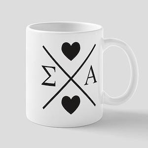 Sigma Alpha Cross 11 oz Ceramic Mug