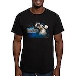 Men's Fitted Uesugi Kenshin T-Shirt (dark)