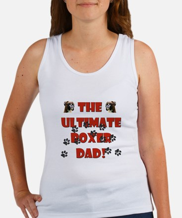 The Ultimate Boxer Dad! Women's Tank Top