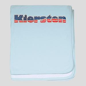 American Kiersten baby blanket