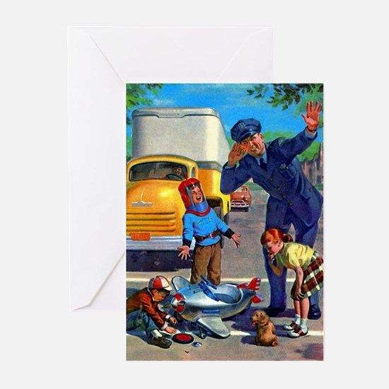 Traffic Accident Greeting Cards (Pk of 10)