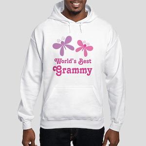 Best Grammy Butterfly Hooded Sweatshirt