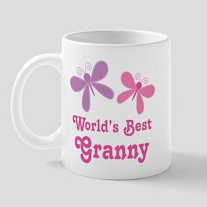 Best Granny Butterfly Mug