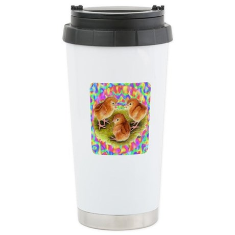Party Time Chicks Stainless Steel Travel Mug