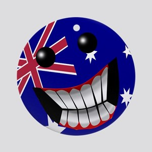 Australian Smile Ornament (Round)