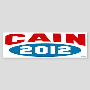 Cain 2012 Sticker (Bumper)