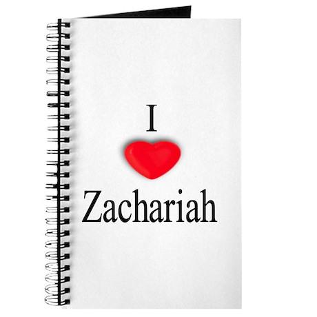 Zachariah Journal