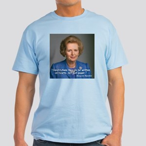 Thatcher Hearts Quote Light T-Shirt