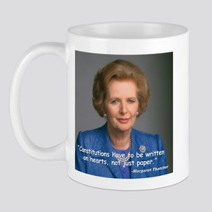 Thatcher Hearts Quote Mug