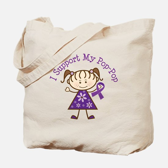 Alzheimers Support Pop-Pop Tote Bag
