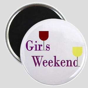 Girls Weekend Wine Magnet