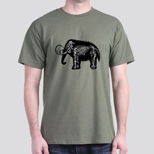 Woolly Mammoth Dark T-Shirt