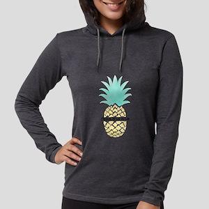 Gamma Sigma Sigma Pineapple Womens Hooded T-Shirts