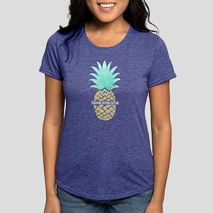 Gamma Sigma Sigma Pineap Womens Tri-blend T-Shirts