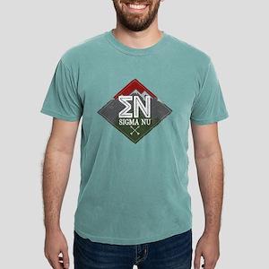 Sigma Nu Mountains Dia Mens Comfort Color T-Shirts