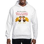Vegan Thanksgiving Hooded Sweatshirt